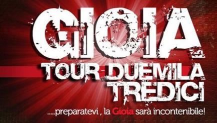 Gioia 2013, parte il nuovo tour dei Modà