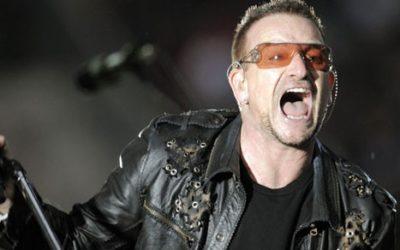 """Bono, leader degli U2: """"L'Italia non sia sola sui migranti"""""""