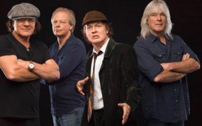 Moneta Australia per 45 anni band AC/DC