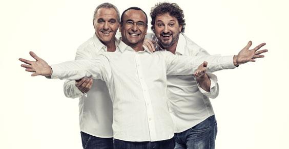Panariello, Conti e Pieraccioni: triplo sold out date fiorentine
