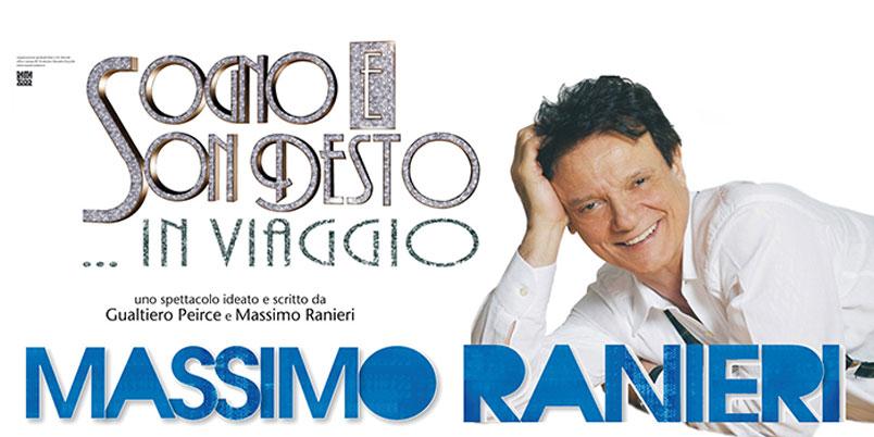 """Massimo Ranieri torna al Sistina di Roma con """"Sogno e son desto in viaggio"""""""