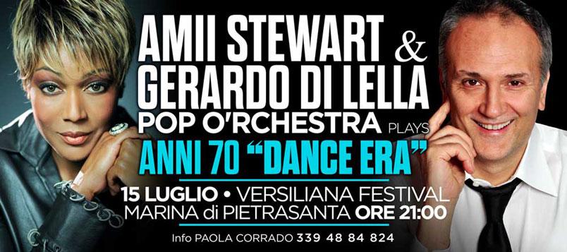 """Amii Stewart & Gerardo Di Lella insieme per due grandi show targati """"Anni 70 Dance Era"""""""