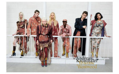 Vivienne Westwood protagonista nuova collezione di Andreas Kronthaler