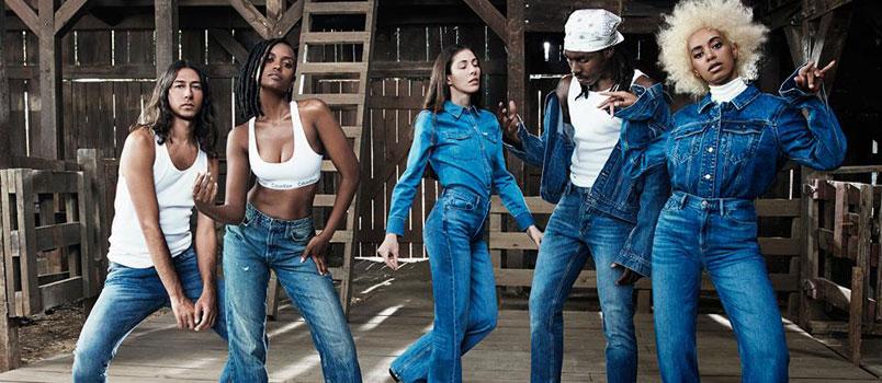 Solange posa per nuova campagna Calvin Klein Underwear e Jeans