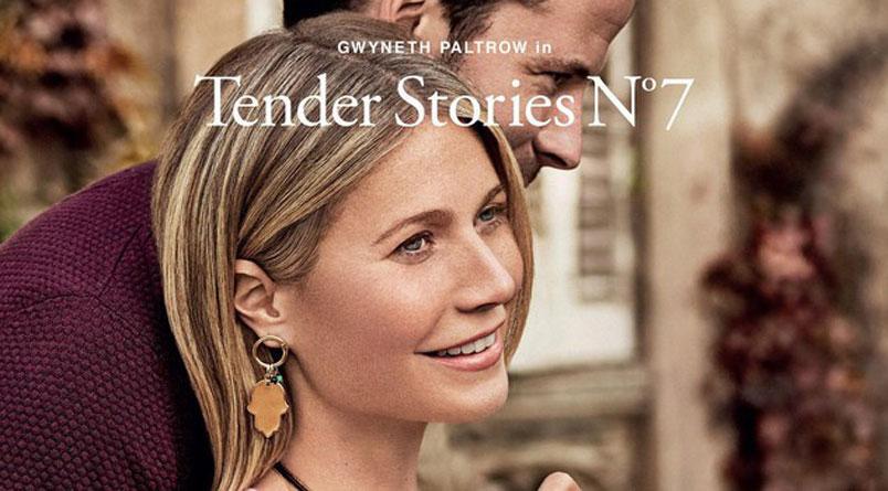 Gwyneth Paltrow protagonista della campagna del marchio Tous