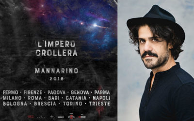 """Mannarino. """"L'impero crollerà"""" il nuovo concept tour, dal 23 marzo"""