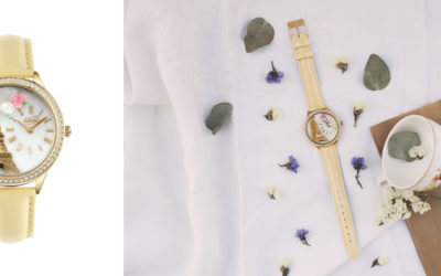 Eleganti orologi declinati in giallo mimosa per la Festa della Donna firmata Didofà
