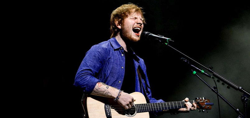Ed Sheeran: nuovo record su Spotify