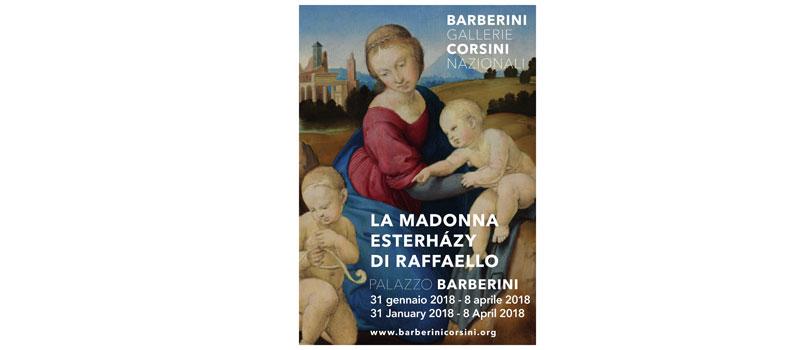La Madonna Esterházy di Raffaello in mostra a Palazzo Barberini di Roma