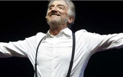 """Gigi Proietti e i suoi """"Cavalli di Battaglia"""" il 20 giugno all' Auditorium Parco della Musica"""