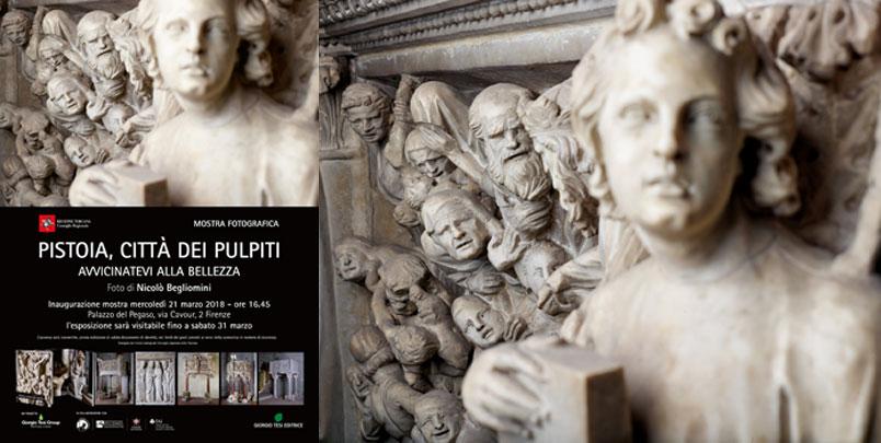 Pistoia Città dei Pulpiti: il libro e la mostra arrivano a Firenze