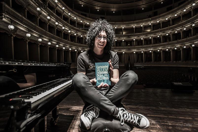 """Dal 19 aprile Giovanni Allevi torna in libreria con """"L'Equilibrio della Lucertola"""""""