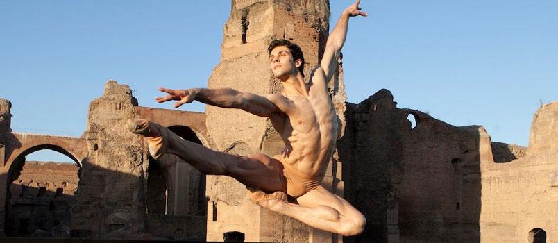 Roberto Bolle torna alle Terme di Caracalla: 9 e 10 luglio 2019