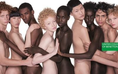"""Nudi come"" nuova campagna Benetton firmata da Oliviero Toscani"