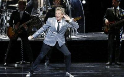 Rod Stewart: 50 anni sul palco non ha intenzione di appendere il microfono al chiodo