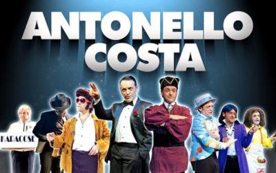 """Antonello Costa debutta con """"Ridi con me""""al Teatro Olimpico di Roma"""