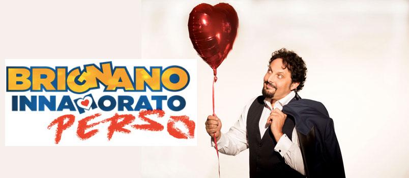 """Enrico Brignano con """"Innamorato Perso"""" in scena al Palazzo dello Sport di Roma"""