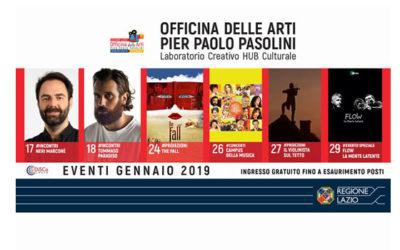Officina Pasolini di Roma: ecco gli appuntamenti di gennaio