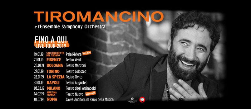 """Tiromancino: dal 21 gennaio in tour con """"Fino a Qui – Tour"""""""
