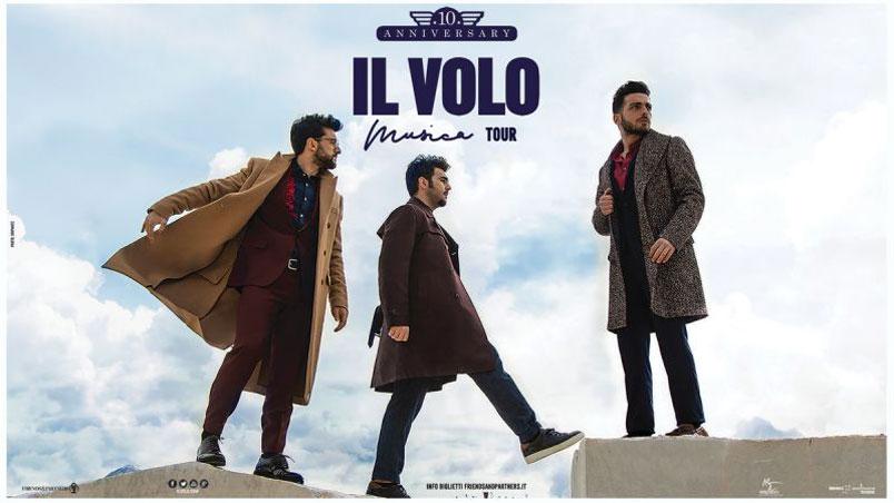 Il Volo: aperte le prevendite per le date del tour in Italia