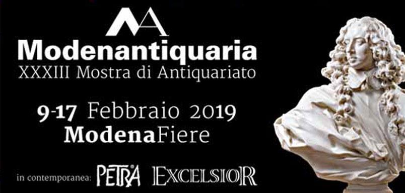 Modenantiquaria da record: grande successo per la XXXIII edizione