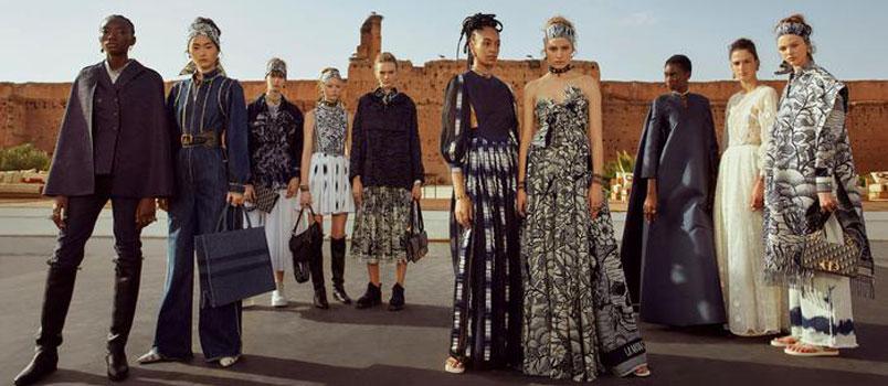 Dior a Marrakech: l' Europa incontra l'Africa