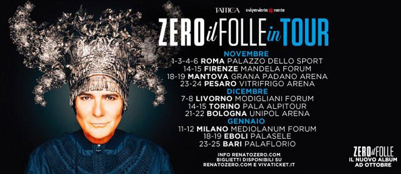 """Renato Zero: online il video """"Mai più da soli"""""""