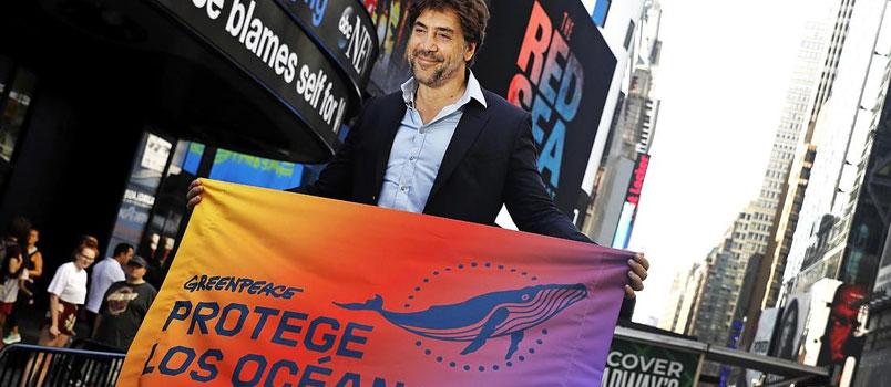 Javier Bardem all'Onu per salvare gli Oceani