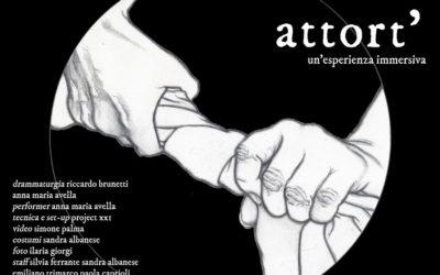 Attort' in scena al Teatro Trastevere, dal 17 al 20 ottobre