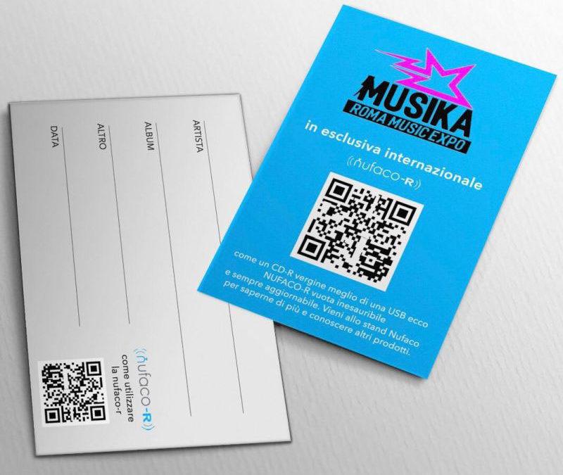 Nufaco presenta la Card Vuota a Expo Musica 2019