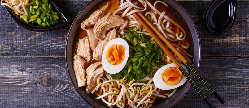 La dieta giapponese insidia quella mediterranea