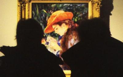 """Vittorio Sgarbi e Francesco Murano presentano il libro """"L'illuminazione delle opere nelle mostre d'arte"""" a Palazzo Bonaparte"""