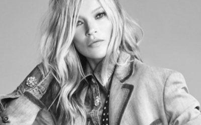 Kate Moss protagonista campagna di Scervino