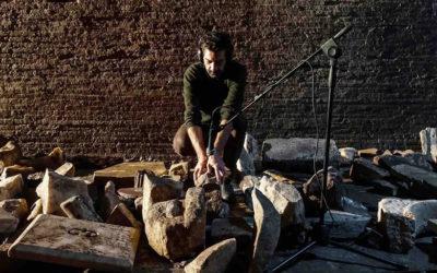Iginio De Luca ai Mercati di Traiano per Live Museum Live Change