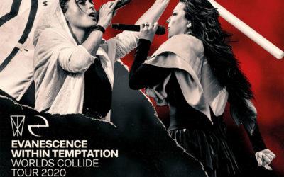 Evanescence e Within Temptation: posticipata data italiana del Worlds Collide Tour