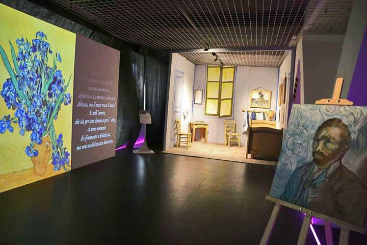 """Vincent Van Gogh Multimedia & Friends"" la mostra multimediale a Parma"