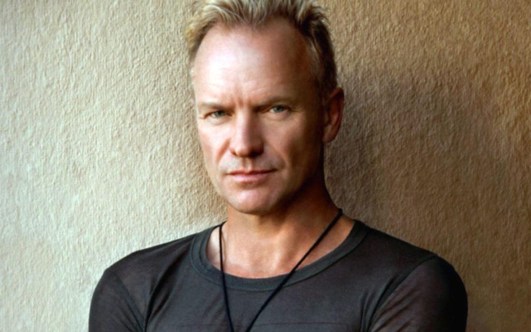 """Sting: il 23 luglio a Parma la prima data italiana del suo """"My song tour 2020"""""""
