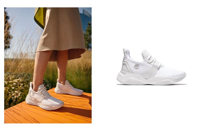 Timberland presenta Emerald Bay: la sneaker perfetta per una Mamma Green