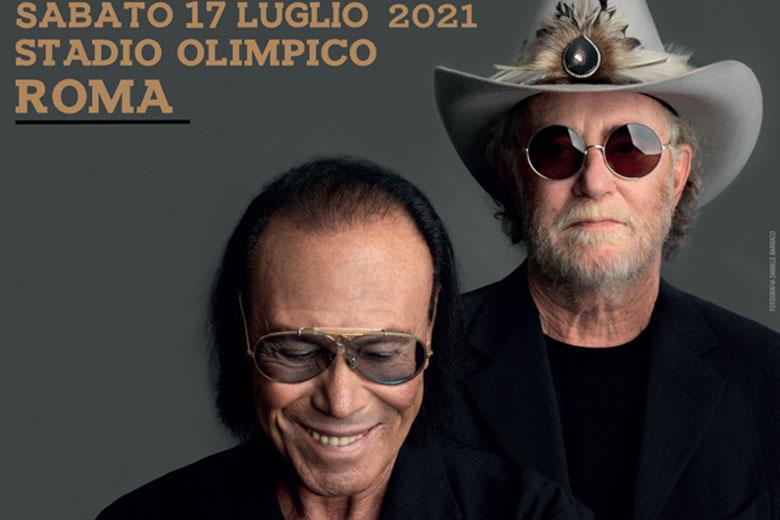 Venditti e De Gregori: rinviato al 2021 il concerto a Roma