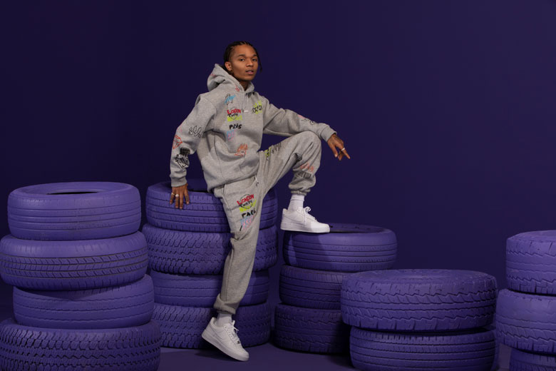 BoohooMAN lancia capsule athleisure in collaborazione con il rapper e producer statunitense Swae Lee