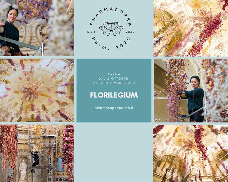 Rebecca Louise Law riconquista Parma con 200mila fiori