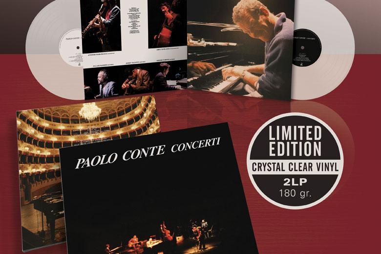 """Paolo Conte: esce in doppio vinile da collezione """"Crystal Clear Vinyl"""""""