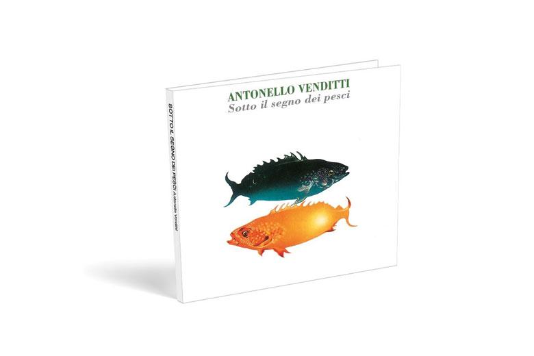 """Antonello Venditti: oggi in edicola """"SOTTO IL SEGNO DEI PESCI"""", in una nuova edizione rimasterizzata"""