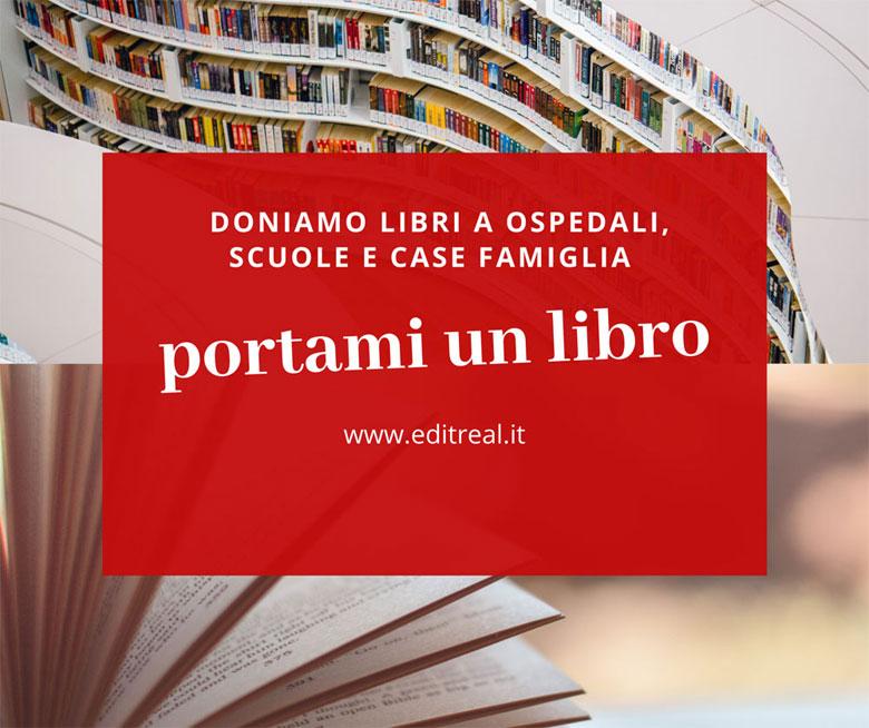 """""""Portami un libro"""" il progetto benefico di EditReal"""