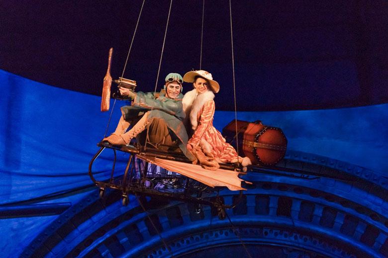 Gli spettacoli di Cirque du Soleil riprogrammati al 2022