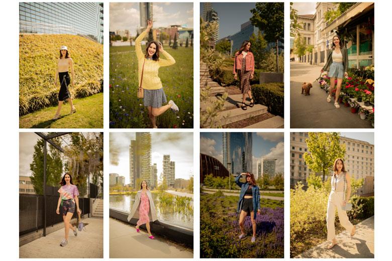 Amazon Fashion X Ludovica Sauer Spring Summer Lookbook