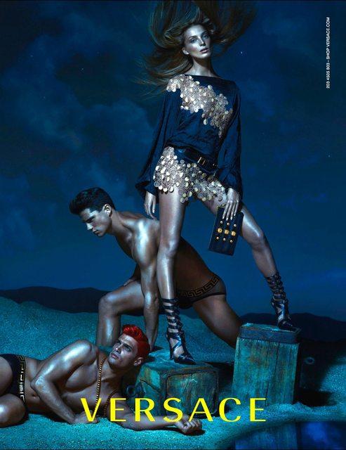 Versace_2013_spring_summer_ad_campaign_daria_wer